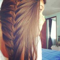 Girl with a french braid by Mira-Heart