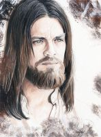 Jesus - The Walking Dead by Fayeren
