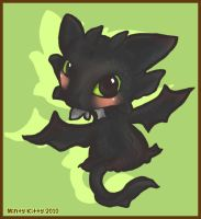 Cute Toothless by Minty-Kitty-Art