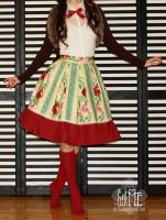 Russian Tea Room skirt by zeloco