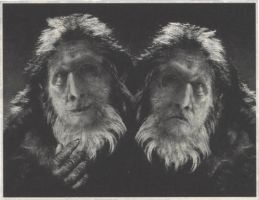 Two-Headed Bigfoot Photograph by Wahreoh