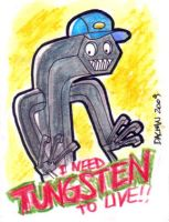 Allen Wrench Sketchcard by kennydalman