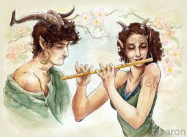 fauns by tavaron
