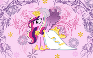 Princess Cadence Wallpaper by animegirl1429