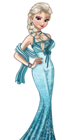 Elsa's prom Dress ( Nina-D-Lux's Contest) by Trilly21
