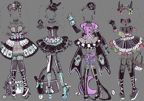 -SOLD-GothicClothes by Guppie-Adopts