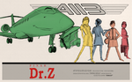 dr.no movie poster by PKD-airline
