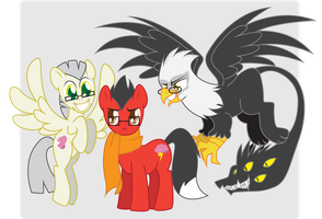 My OC Ponies by Inspectornills