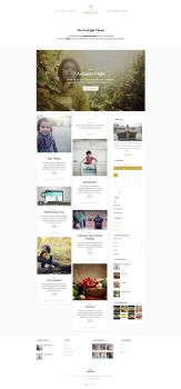 Foxlight - WordPress Personal Blog Theme - Home by ZERGEV