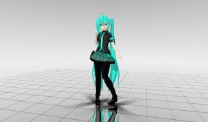 MMD DT Miku Love Is War dl by martinnx