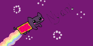 NYAN CAT by F1Finkle