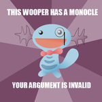 This Wooper... by Hybrid-Trainer