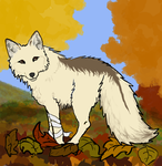 Lockett in the Leaves by graphiteforlunch