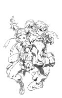 Street Fighter 2 issue 1 cover by BrenGun