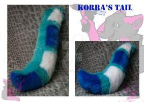 Korra's tail by FurryFursuitMaker