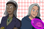 Abuela and Verdona by Xing-2-Lee