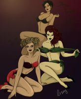 Gotham Girls by SpookshowBabyx