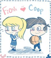Wanna play?_CoopxFiona by wernwern
