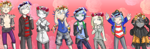 FLOWER POWER TO THE MAX by Rndom-Obsessions