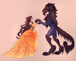 Beauty and the Beast by CrystallizedTwilight