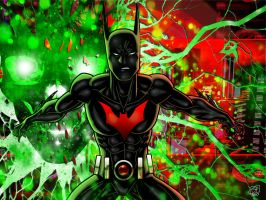 Batman Beyond IV by Kenpudiosaki
