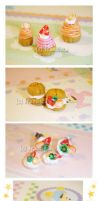 fruit choux by lololollipop