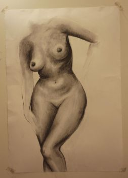 Figure Drawing by alexandrabehn