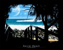 Secret Beach by Lilshadow