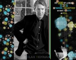 Alan Rickman - wallpaper 7 -2- by transparentbird