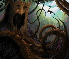 Tree Monster by KJ-A