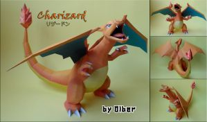 Charizard Papercraft by Olber-Correa