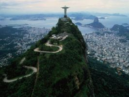 View from Corcovado by divine-Providence