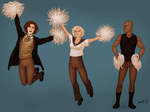 12 Go Team TARDIS! by harbek