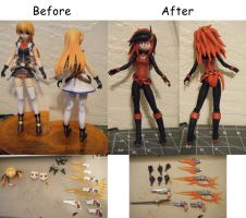 Kate Doll Before And After by aachi-chan