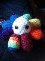 Winston The Rainbow Octopus by HorrorEmpress