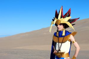Judgment of the Pharaoh - Atem from Yu-Gi-Oh! by Pharaohmones