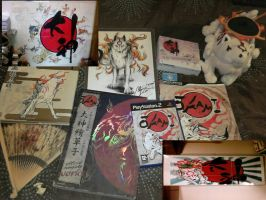 Okami Merchandise Collection 2 by Skunk-Mantra