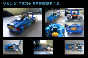 Valix-tech: Speeder 1.0 by Sferath
