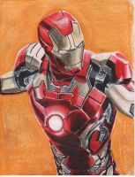 Avengers Age of Ultron IRON MAN Mark 43 by angell35art