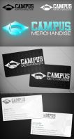 Campus Merchandise logo + card by Stephen-Coelho