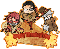 Happy Thanksgiving by Kit-Ryu