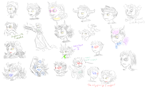 HS_Bunch of troll doodles by Chivi-chivik