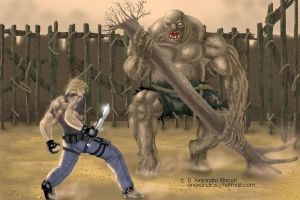 Resident evil 4 by bandro