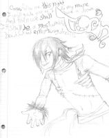 History doodle: Torin by ElfSama
