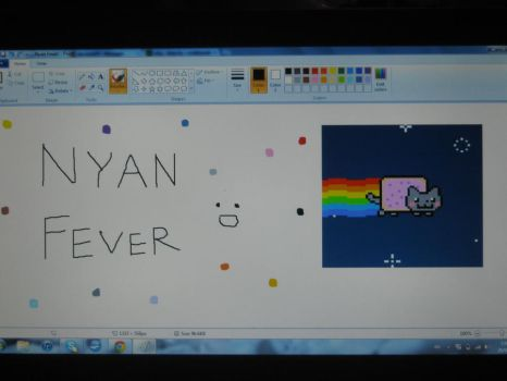 NYAN FEVER XD by PeaceAndLove44