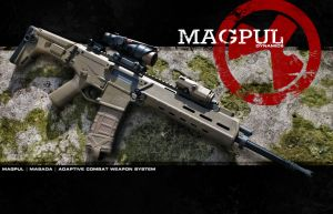 Magpul Masada wallpaper by Drake-UK