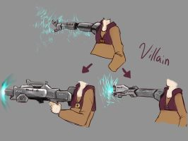 Day 9. My weapon as Villain/Hero by Meiying262