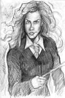 Hermione from Harry Potter by hcnoel