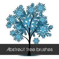 Abstract tree brushes by emperorwarion