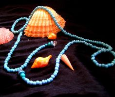 Necklace of Ocean by WolfOrchidea